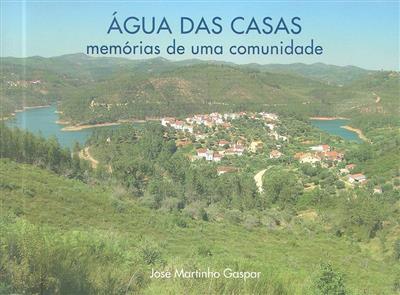 Água das Casas (José Martinho Gaspar)