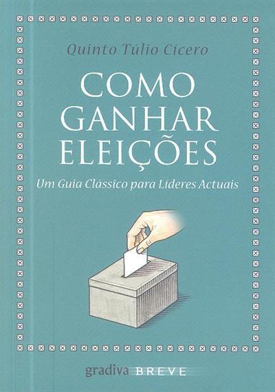 Como ganhar eleições (Quinto Túlio Cícero)