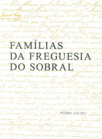 Famílias da freguesia do Sobral (Pedro Amaro)