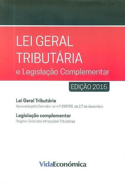 Lei geral tributária e legislação complementar
