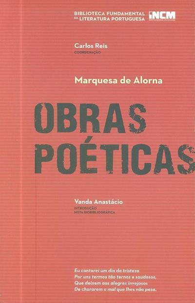 Obras poéticas (Marquesa de Alorna)