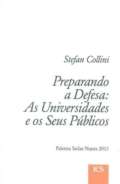 Preparando a defesa (Stefan Collini)