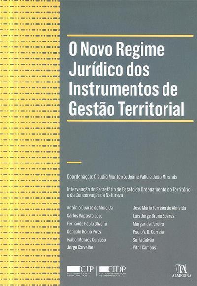 Revisão do regime jurídico dos instrumentos de gestão territorial (Conferência...)