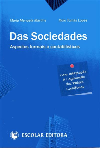 Das sociedades (Maria Manuela Martins, Ilídio Tomás Lopes)