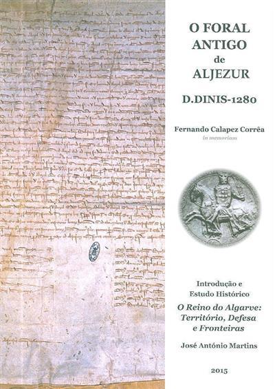 O Foral de Aljezur de 1280