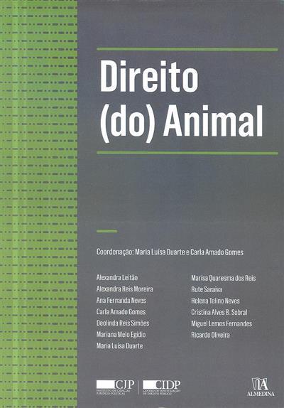 Direito (do) animal (I Curso Avançado Direito (do) Animal)