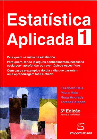 Estatística aplicada (Elizabeth Reis... [et al.])