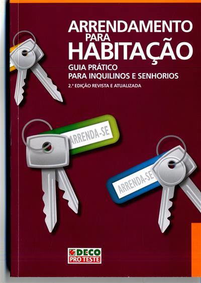 Arrendamento para habitação (coord. Joaquim Rodrigues da Silva, Sónia Covita)