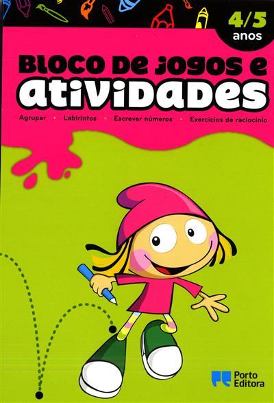 Bloco de jogos e atividades (Cláudia Sofia d'Almeida)