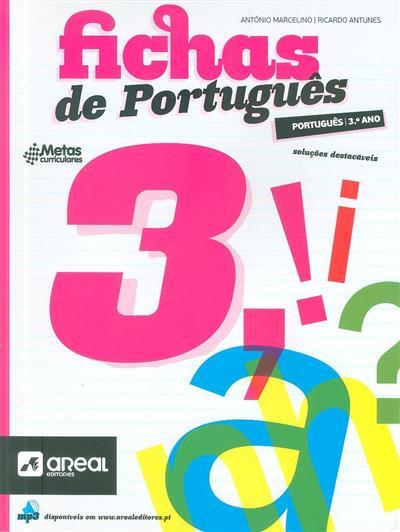 Fichas de português 3 (António Marcelino, Ricardo Antunes)