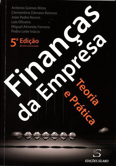 Finanças da empresa (António Gomes Mota... [et al.])