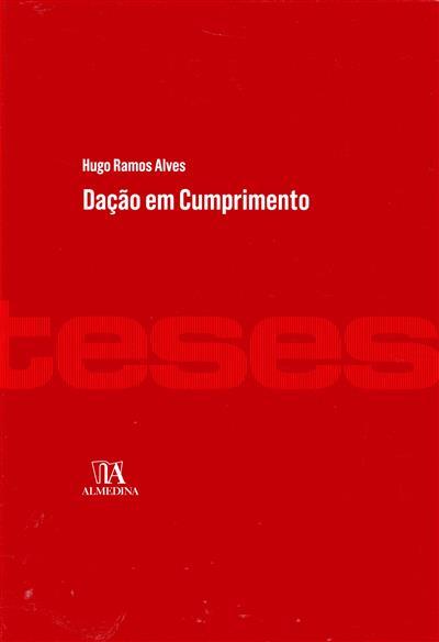 Dação em cumprimento (Hugo Ramos Alves)
