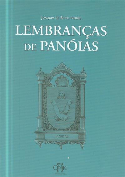 Lembranças de Panóias (Joaquim de Brito Nobre)