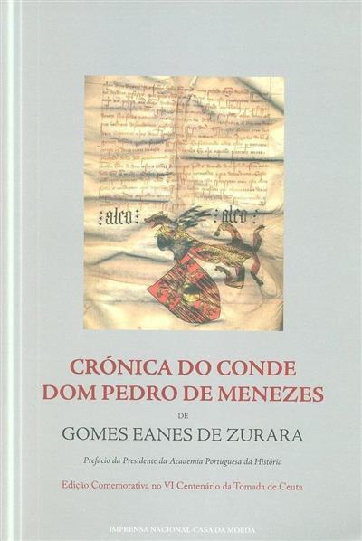Crónica do conde Dom Pedro de Menezes (Gomes Eanes de Zurara)