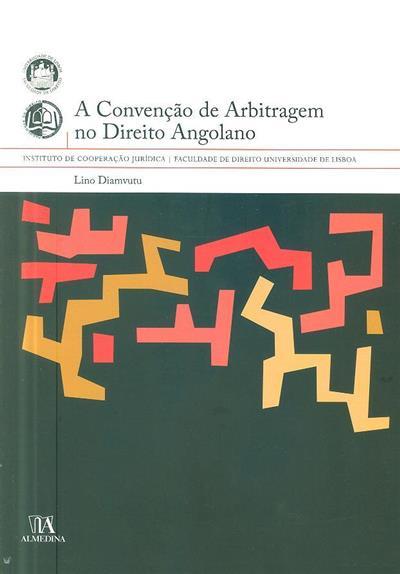 A convenção de arbitragem no direito angolano (Lino Diamvutu)
