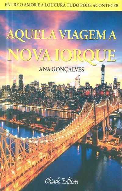 Aquela viagem a Nova Iorque (Ana Gonçalves)