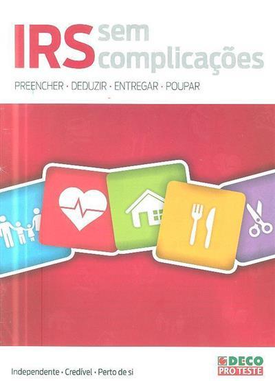 IRS sem complicações (coord. João Mendes)