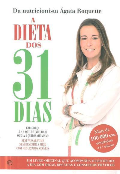 A dieta dos 31 dias (Ágata Roquette)