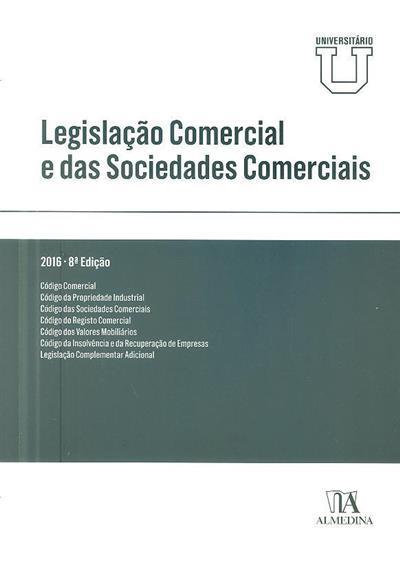 Legislação comercial e das sociedades comerciais