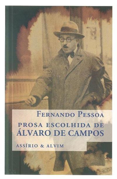 Prosa escolhida de Álvaro de Campos (Fernando Pessoa)