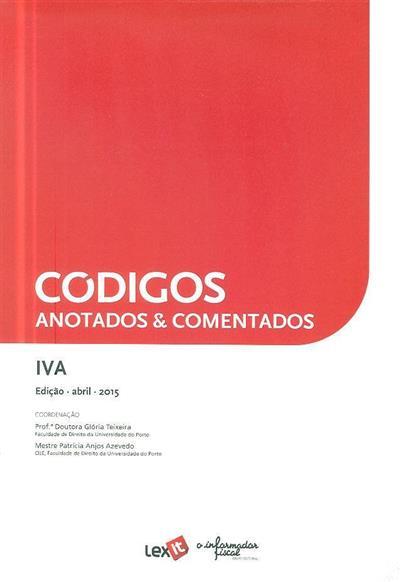 Códigos anotados & comentados (coord. Gloria Teixeira, Patrícia Anjos Azevedo)