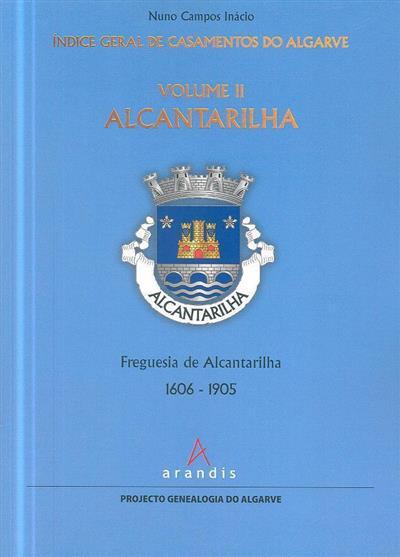 Índice geral de casamentos do Algarve (Nuno Campos Inácio)