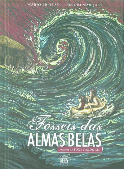 Fósseis das almas belas (argumento e design Mário Freitas)