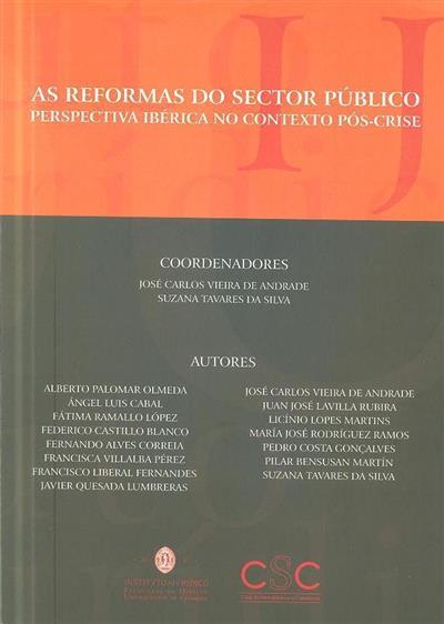 """As reformas do sector público (Seminário Internacional Luso-Espanhol sobre """"Instrumentos para Melhorar a Eficácia do Sector Público"""")"""
