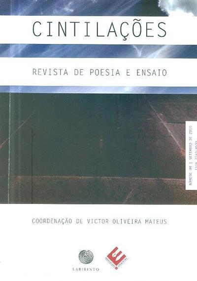 Cintilações (ed. Editora Labirinto, Núcleo de Artes e Letras de Fafe)