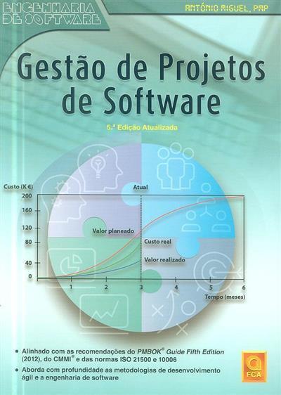 Gestão de projectos de software (António Miguel)