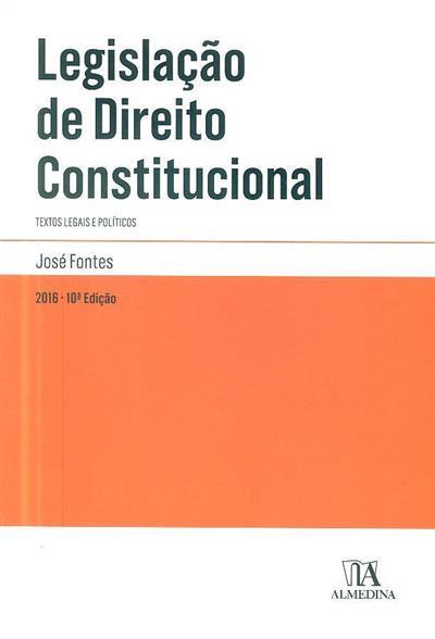Legislação de direito constitucional ( José Fontes)