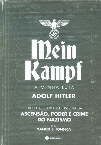 Mein Kampf (Adolf Hitler.)
