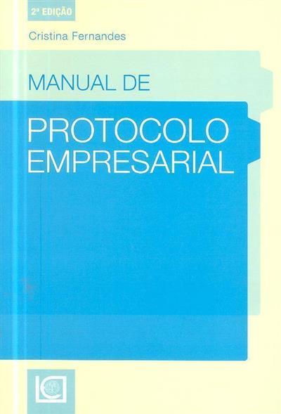 Manual de protocolo empresarial (Cristina Fernandes )