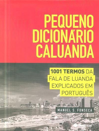Pequeno dicionário caluanda (Manuel S. Fonseca)