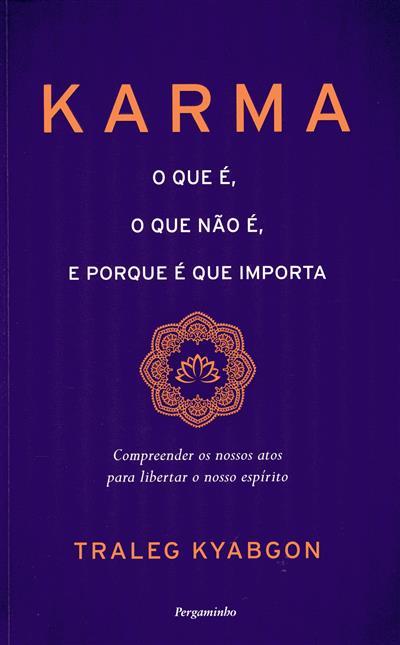 Karma (Traleg Kyabgon)