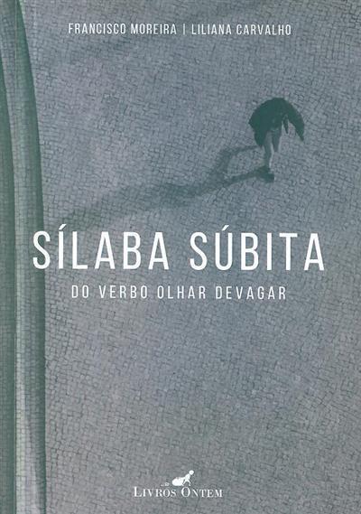 Sílaba súbita do verbo olhar devagar (Francisco Moreira, Liliana Carvalho)
