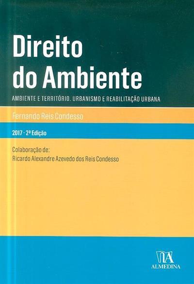 Direito do ambiente (Fernando dos Reis Condesso)