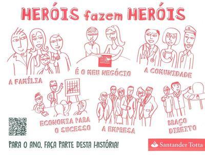 Heróis fazem heróis (coord. Inês Hugon, Raquel Salgueiro)