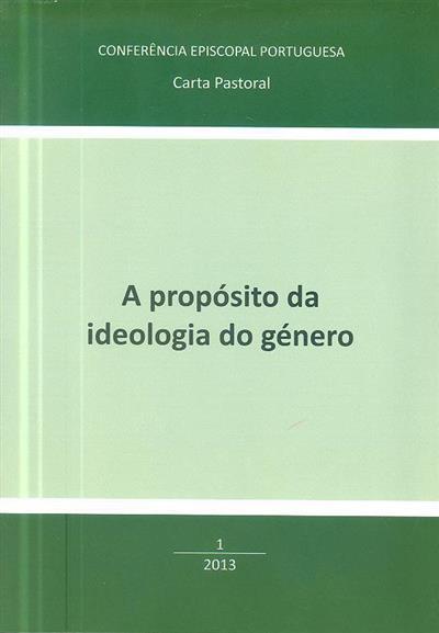 A propósito da ideologia do género (Conferência Episcopal Portuguesa)