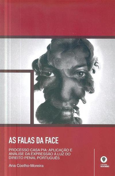As falas da face (Ana Coelho-Moreira)
