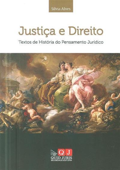 Justiça e direito (Sílvia Alves)