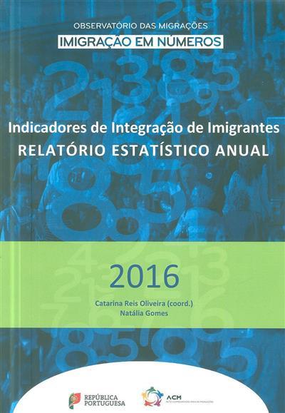 Indicadores de integração de imigrantes (propr. Alto Comissariado para as Migrações)