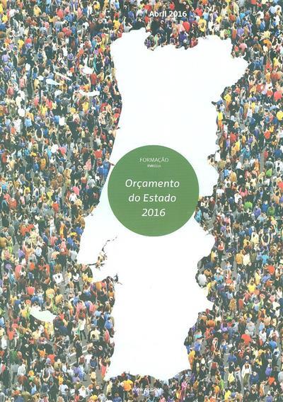 Orçamento do Estado 2016 (José Alberto Pinheiro Pinto, Cristina Pinto)
