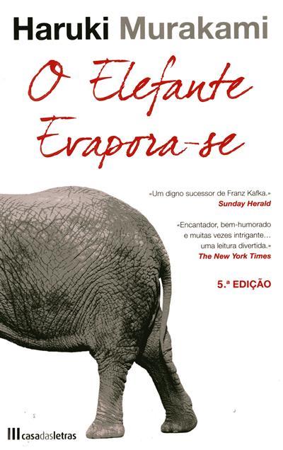 O elefante evapora-se (Haruki Murakami)
