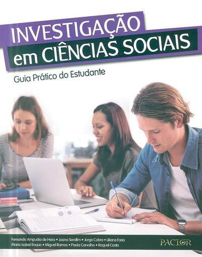 Investigação em ciências sociais (Fernando Ampudia de Haro... [et al.])
