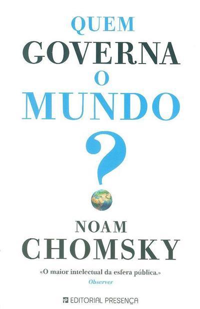 Quem governa o mundo? (Noam Chomsky)