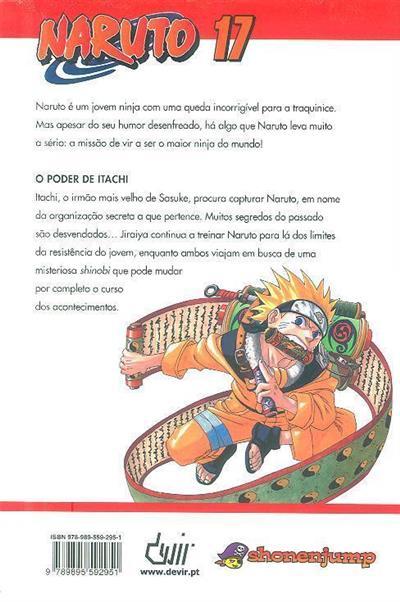 O poder de Itachi (Masashi Kishimoto)