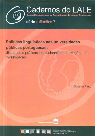 Políticas linguísticas nas universidades públicas portuguesas (Susana Pinto)