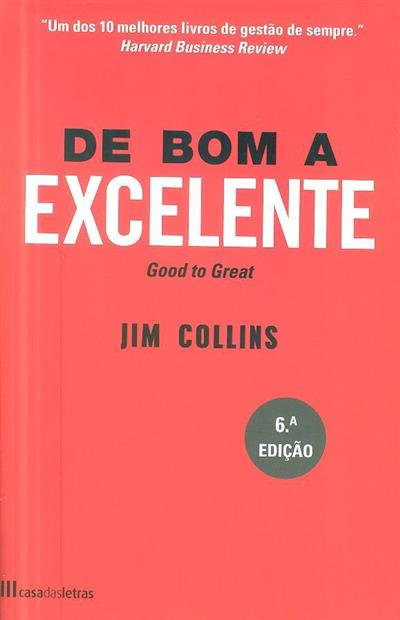 De bom a excelente (Jim Collins)