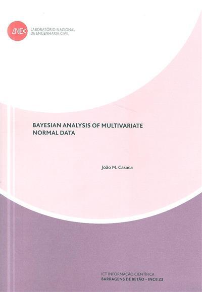 Bayesian analysis of multivariate normal data  (João M. Casaca)